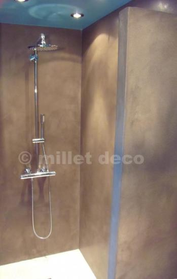 Douche italienne en b ton cir pictures to pin on pinterest - Douche italienne beton cire ...
